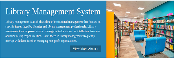 Python, Django and MySQL Project on Library Management System