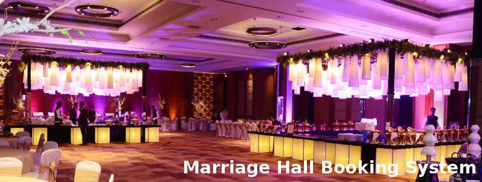 Java, JSP and MySQL Project on Marriage Hall Booking System
