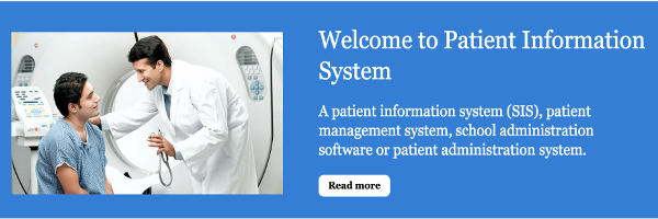 Python, Django and MySQL Project on Patient Information System