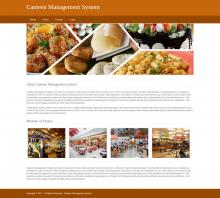 Python, Django and MySQL Project on Canteen Management System