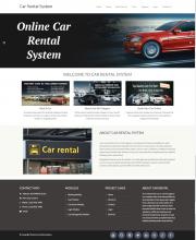 Python, Django and MySQL Project on Car Rental System