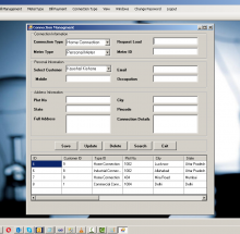 VB.net Windows Application Project on Electricity Billing System