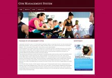 PHP and MySQL Project on Gym Management System