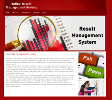 PHP and MySQL Project on Result Management System