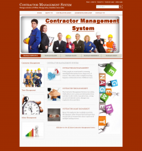 Java, JSP and MySQL Project on Contractor Management System