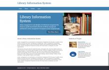 Python, Django and MySQL Project on Library Information System