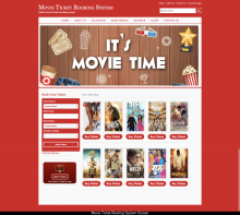 Java, JSP and MySQL Project on Movie Ticket Booking System