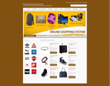 C#, ASP and MySQL Project on Online Shopping System