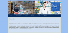 HTML, CSS and JavaScript Project on Pharmacy System