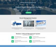 Python, Django and MySQL Project on Student Result Management System