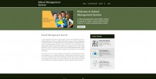 Python, Django and MySQL Project on School Management System