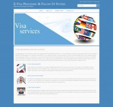 E-Visa Processing And Follow Up System