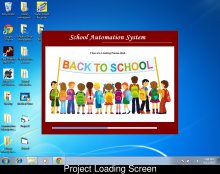 Visual Basic and SQL Server 2000 Project on School Management System