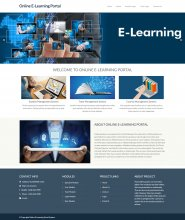 AWS Cloud Python Based Online-E-Learning-Portal