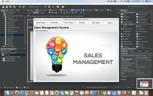 Java and MySQL Project on Sales Management System