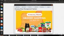 Java and MySQL Project on Grocery Shop Management System