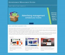 PHP and MySQL Project on Advertisement Management System