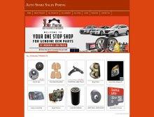 PHP and MySQL Mini Project on Auto Spare Sales Portal