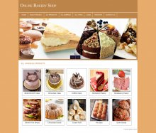PHP and MySQL Mini Project on Online Bakery Shop