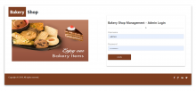 NodeJS, AngularJS and MySQL Project on Bakery Shop Management System