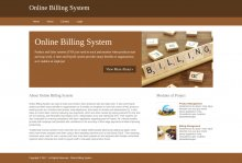 Python, Django and MySQL Project on Online Billing System