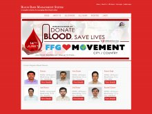 C#, ASP and MySQL Project on Blood Bank Management System