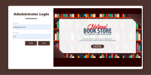 Java Spring Boot, Angular and MySQL Project on Book Store Management System