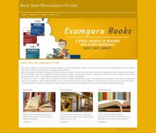 PHP and MySQL Project on Book Shop Management System