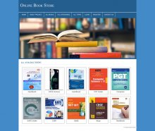 PHP and MySQL Mini Project on Online Book Store