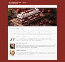 Java, JSP and MySQL Project on Cake Shop Management System