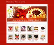 Java, JSP and MySQL Project on Online Cake Ordering System