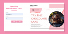 Cake Shop Management System Spring Boot Project