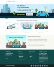 Python, Django and MySQL Project on Car Pooling System