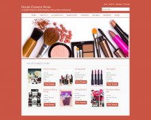 C#, ASP and MySQL Project on Online Cosmetic Store