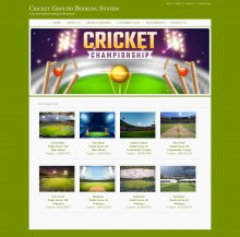Java, JSP and MySQL Project on Cricket Ground Booking System
