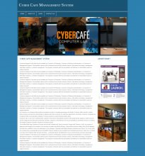 PHP and MySQL Project on Cyber Cafe Management System