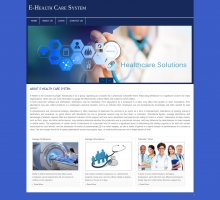 PHP and MySQL Project on E-Health Care System