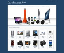 Java, JSP and MySQL Project on Online Electronic Store