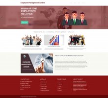 Employee Management System Project - Download Project Source Code