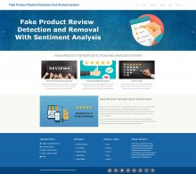 Fake Product Review Detection and Sentiment Analysis