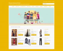 C#, ASP and MySQL Project on Online Fashion Store