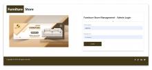 NodeJS, AngularJS and MySQL Project on Furniture Store Management System