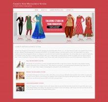 Java, JSP and MySQL Project on Garment Shop Management System