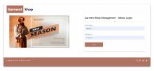 NodeJS, AngularJS and MySQL Project on Garment Shop Management System