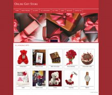 PHP and MySQL Mini Project on Online Gift Store