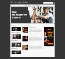 Java, JSP and MySQL Project on Gym Management System Screens