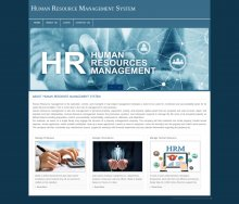 PHP and MySQL Project on Human Resource Management System