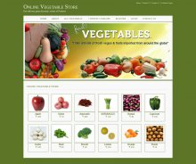 Java, JSP and MySQL Project on Online Vegetable Store
