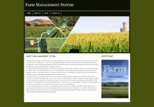 PHP and MySQL Project on Farm Management System