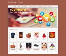 Java, JSP and MySQL Project on E-Commerce Portal